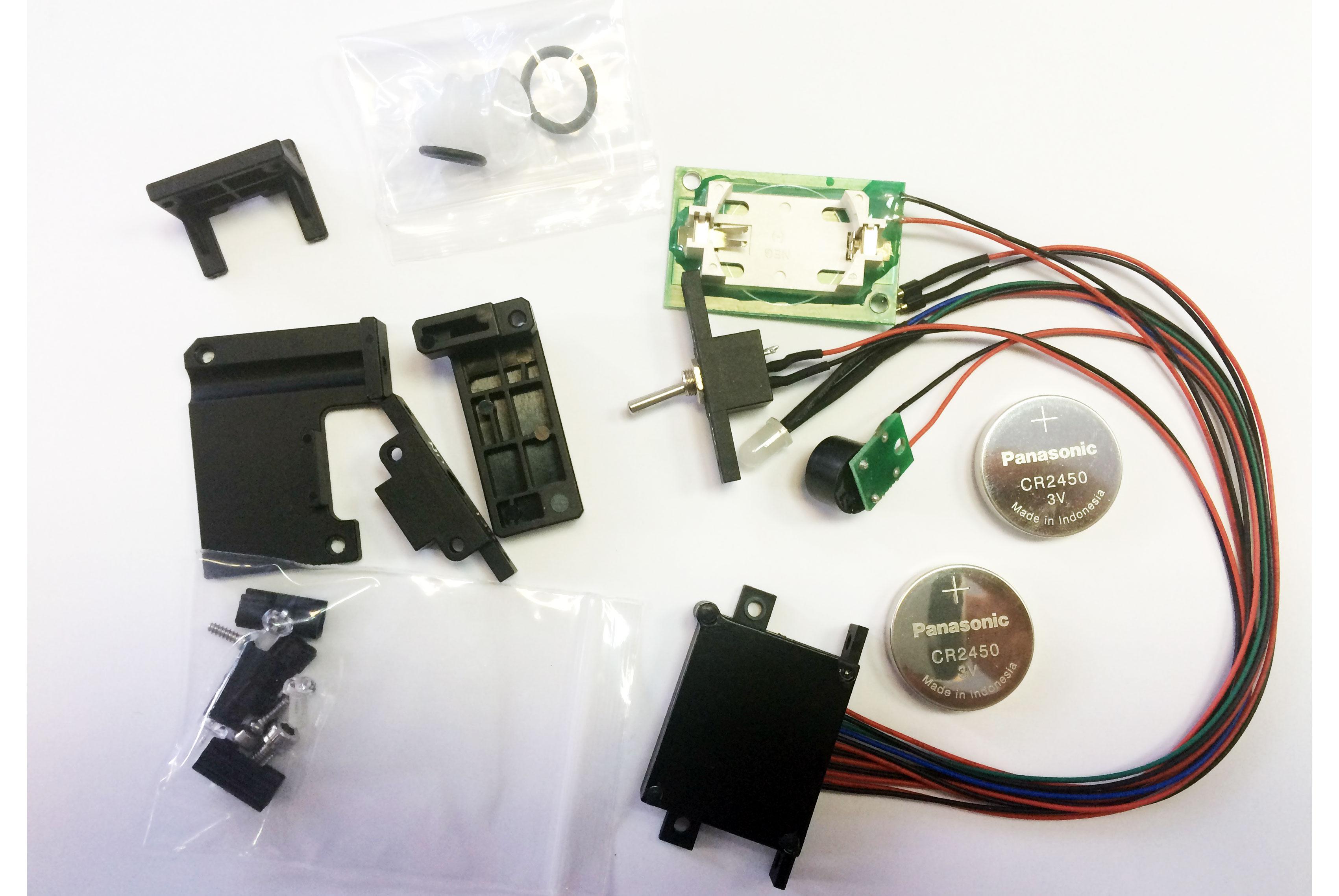 Электронный блок системы вакуумной проверки бокса с системой обнаружения протечки