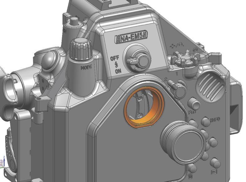Угловой внешний 45-градусный видоискатель Nauticam для компактных боксов