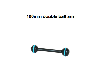 100mm double ball arm