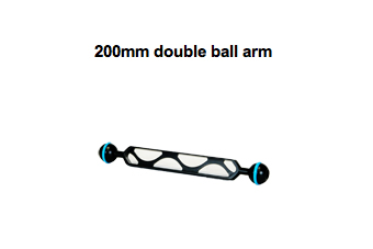 200mm double ball arm