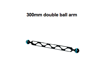 300mm double ball arm