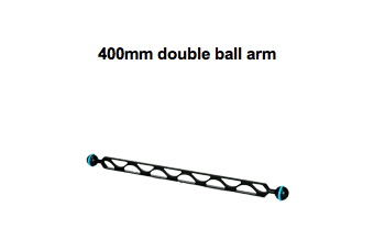 400mm double ball arm