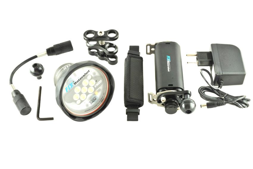 Подводный видеосвет WaterShot V3000 (Basic kit)