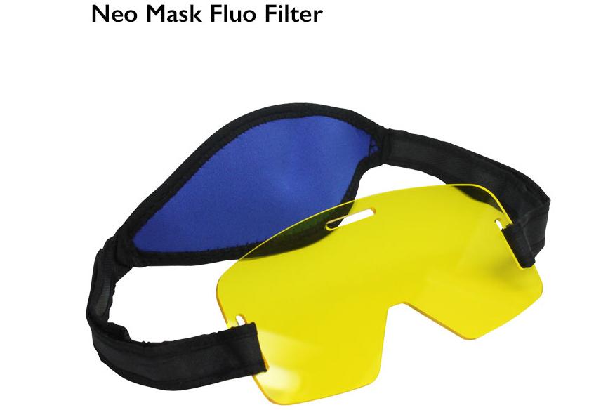 Накладка на маску с флуоресцентным фильтром