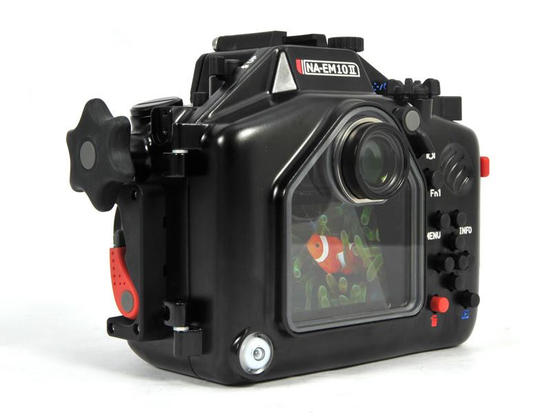 Подводный бокс для Olympus OMD E-M10II