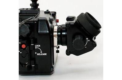 Окно дисплея бокса для установки внешних видоискателей на бокс NA-EM5