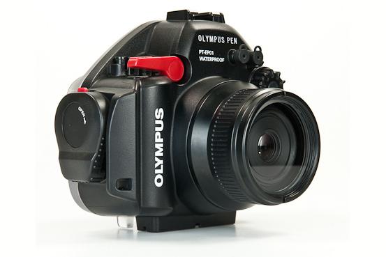 Флэт-порт FP-100-EP для объектива Panasonic / Leica 45mm Macro для боксов Olympus PT-EP01, PT-EP02, PT-EP03, PT-EP05, PT-EP06