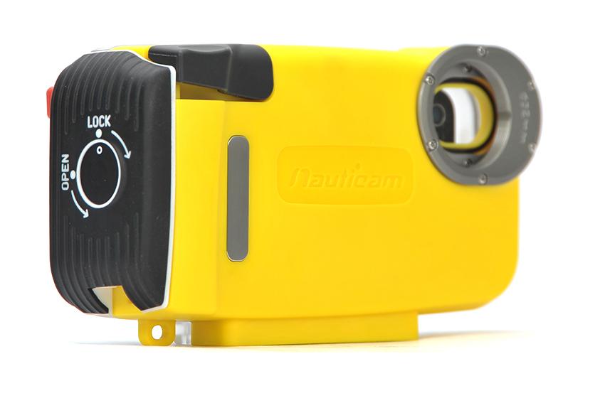 -Подводный бокс Nauticam для iPhone 4/4S/5 желтый