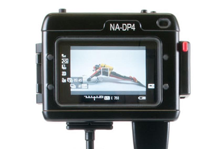 Подводный бокс для монитора DP4