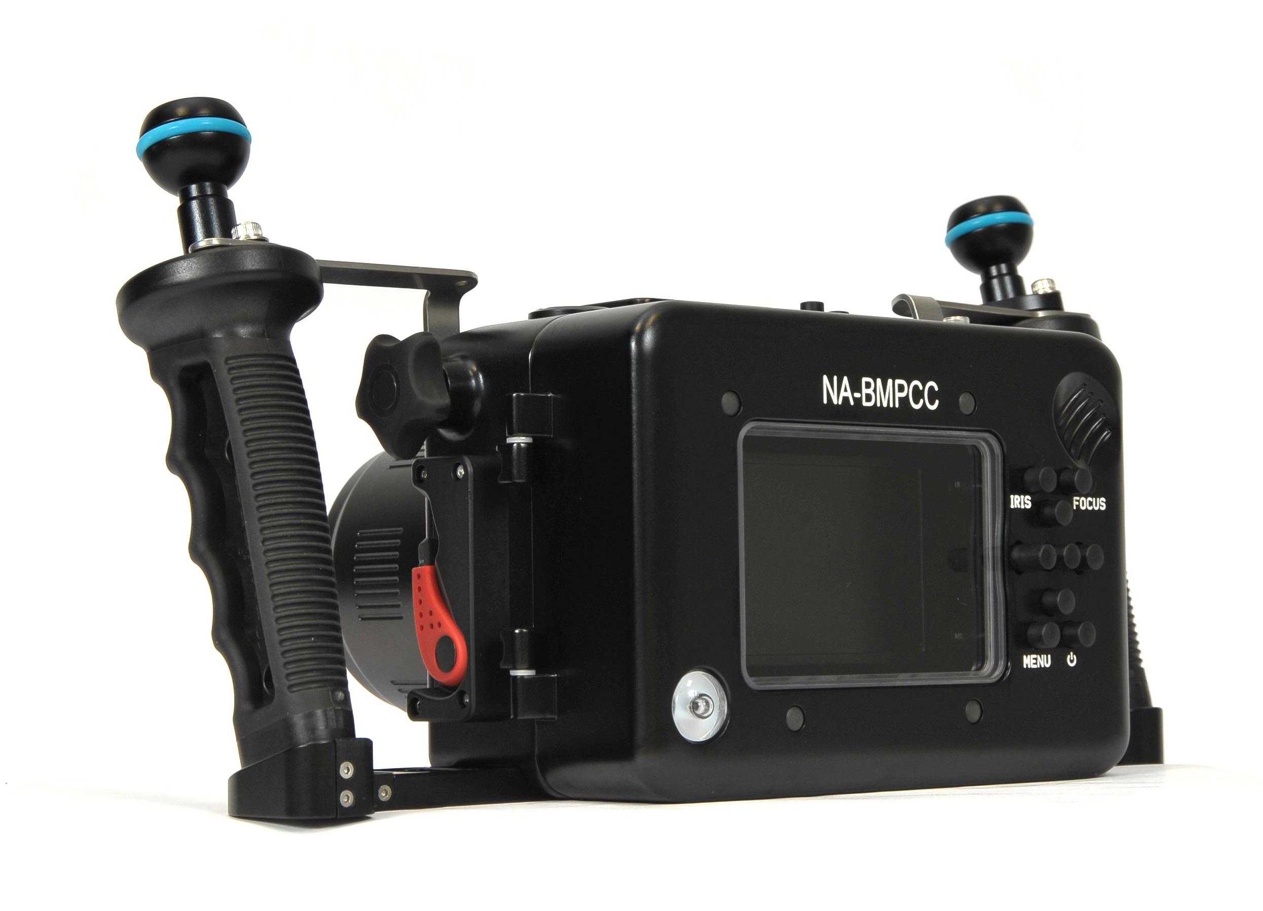 Подводный бокс для Blackmagic Pocket Cinema Camera